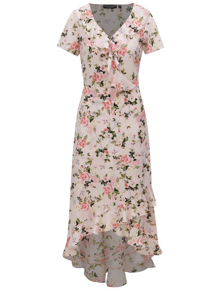 96ad907de741 Svetloružové kvetované maxišaty Dorothy Perkins · Svetloružové kvetované  maxišaty Dorothy Perkins