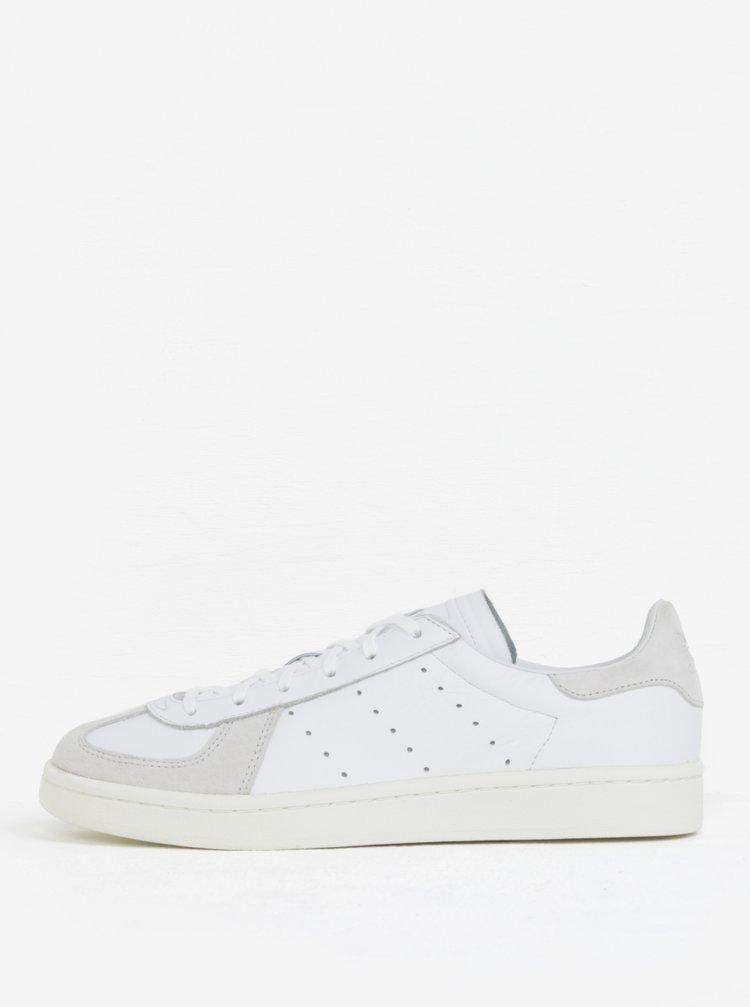Bílé pánské kožené tenisky adidas Originals Avenue