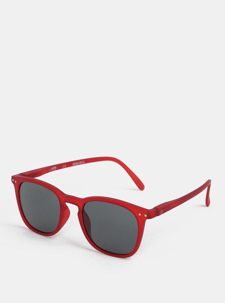 Červené sluneční brýle IZIPIZI #E