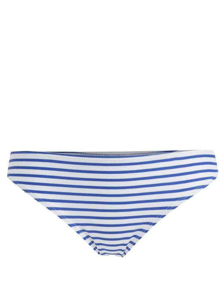 Slip de baie albastru-alb in dungi Dorothy Perkins