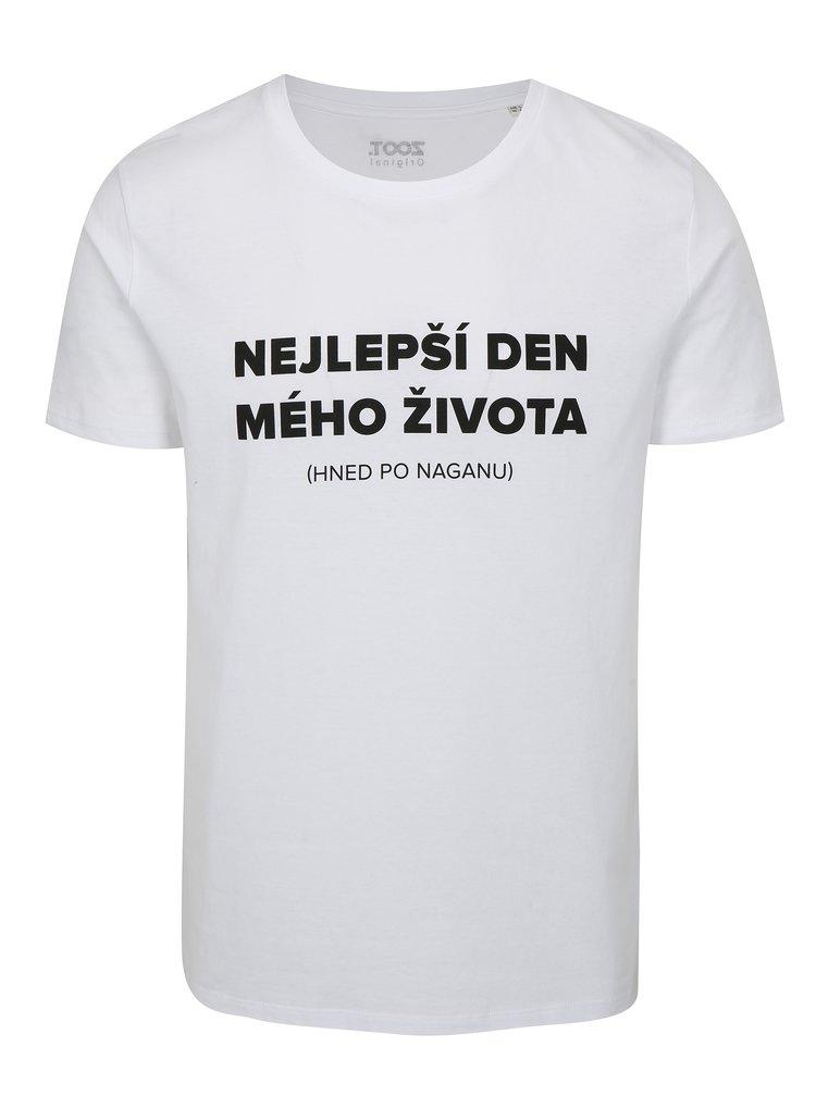 Bílé pánské tričko s potiskem ZOOT Nagano