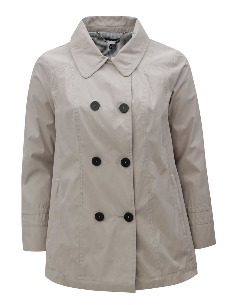 Béžový kabát Ulla Popken