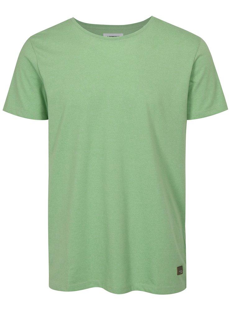 Tricou verde deschis cu maneci scurte Lindbergh