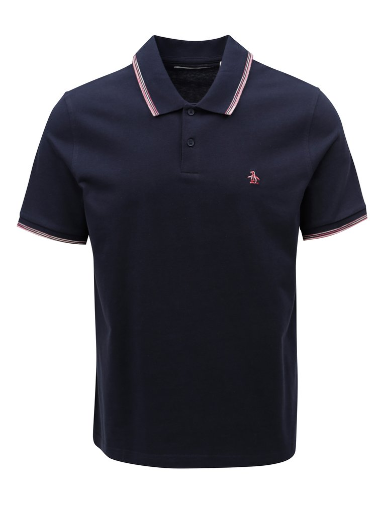 Trciou polo albastru inchis Original Penguin Point