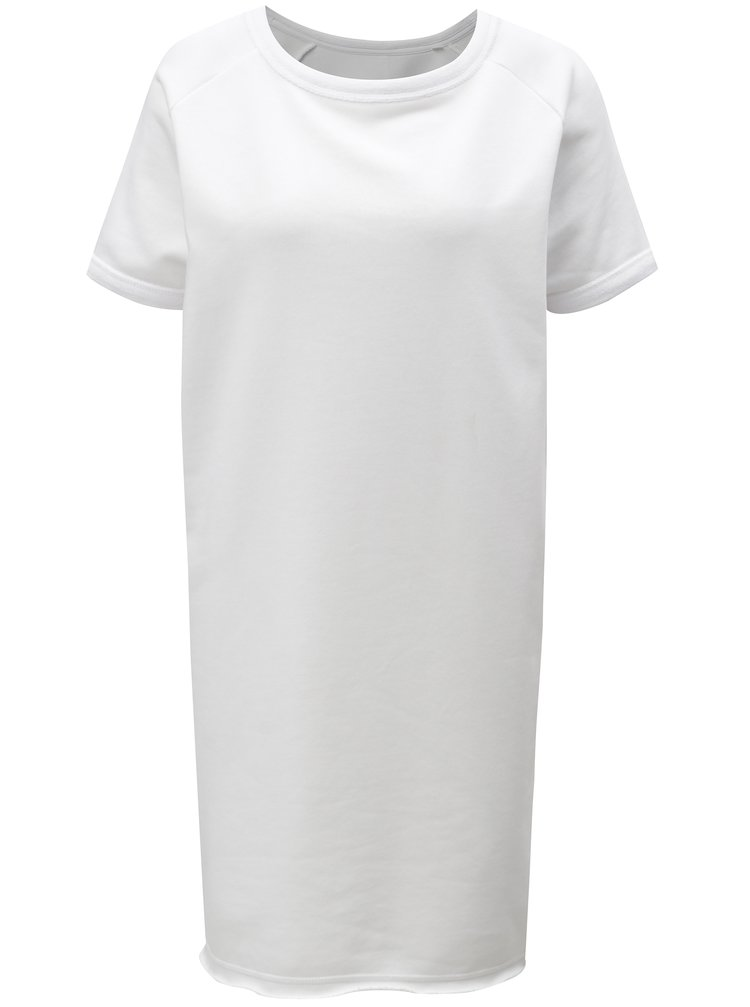 Bílé mikinové šaty Stanley & Stella Tendrs