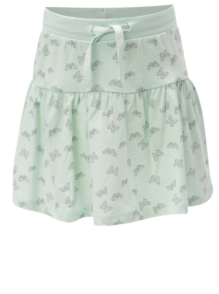 Mentolová holčičí vzorovaná sukně 5.10.15.