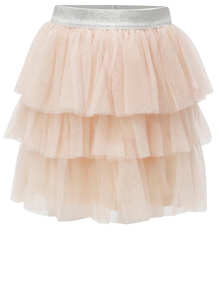Světle růžová tylová sukně 5.10.15.