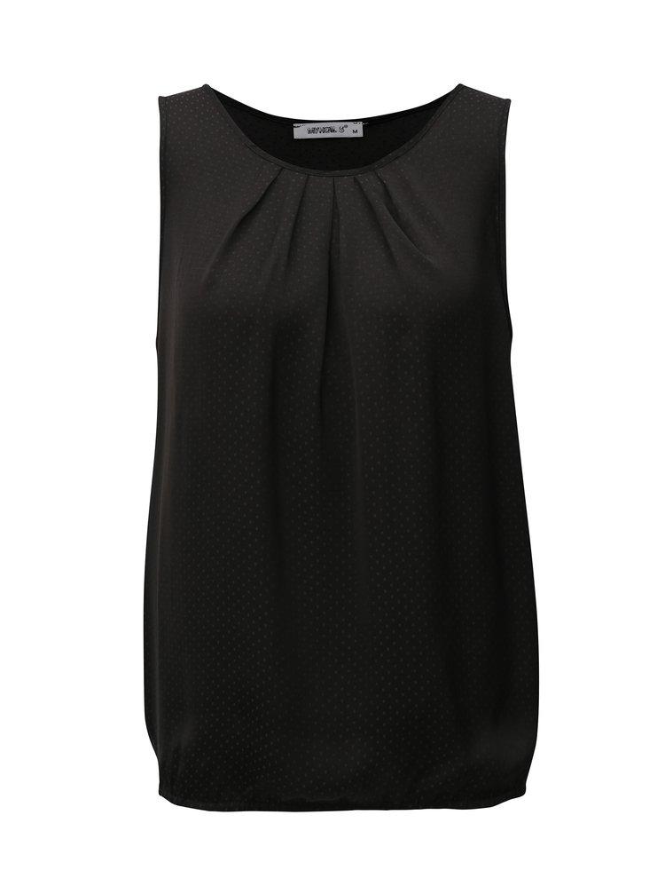 Černé tílko s drobným vzorem Haily´s Jenny