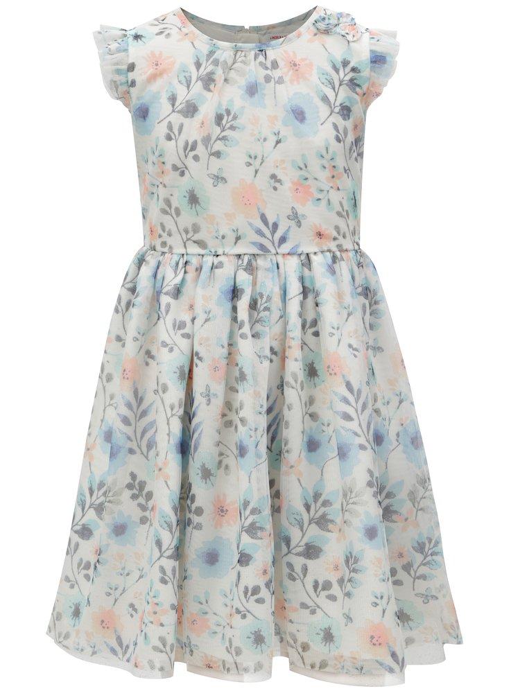 Modro-bílé holčičí květované šaty 5.10.15.