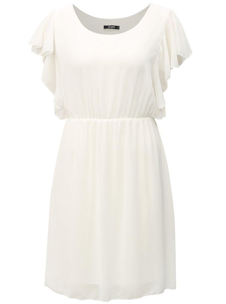 Bílé šaty s volány Haily´s Beth