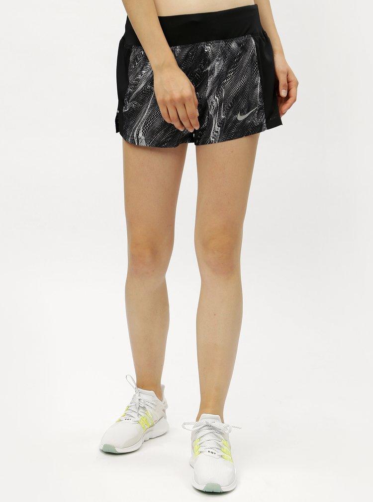 Pantaloni de dama functionali scurti negri Nike Eclipse