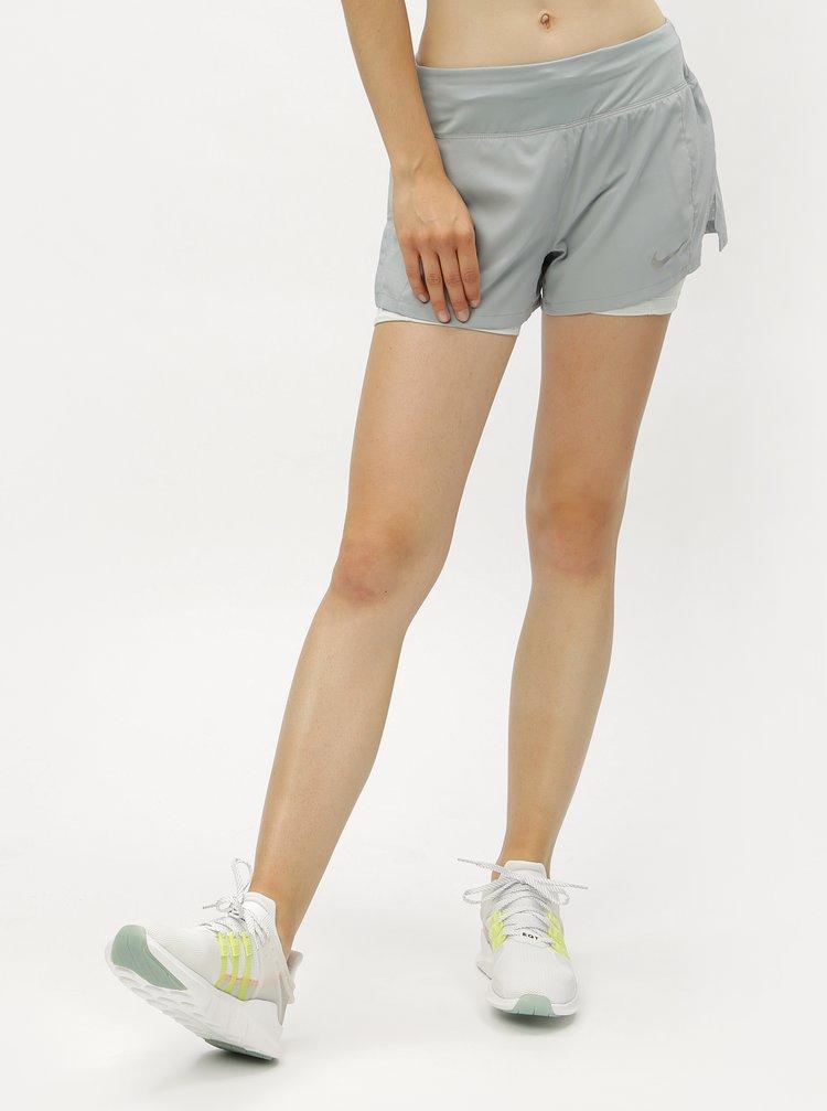 Mentolové dámské funkční kraťasy Nike Eclipse