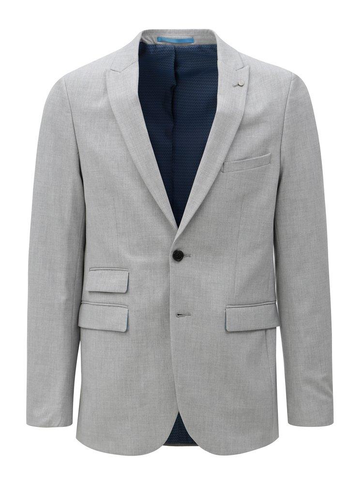 Sacou gri deschis formal Burton Menswear London