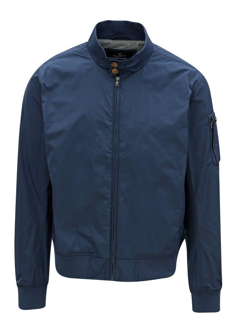 Tmavě modrá bunda Hackett London Memory