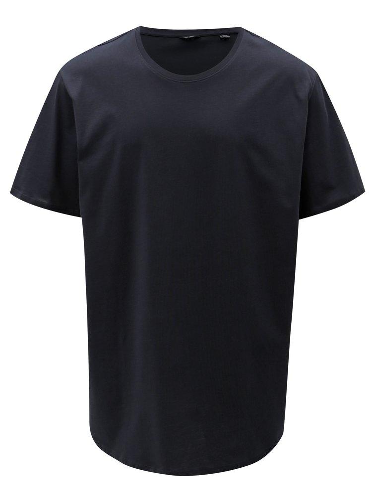 Tricou albastru inchis basic ONLY & SONS Matt