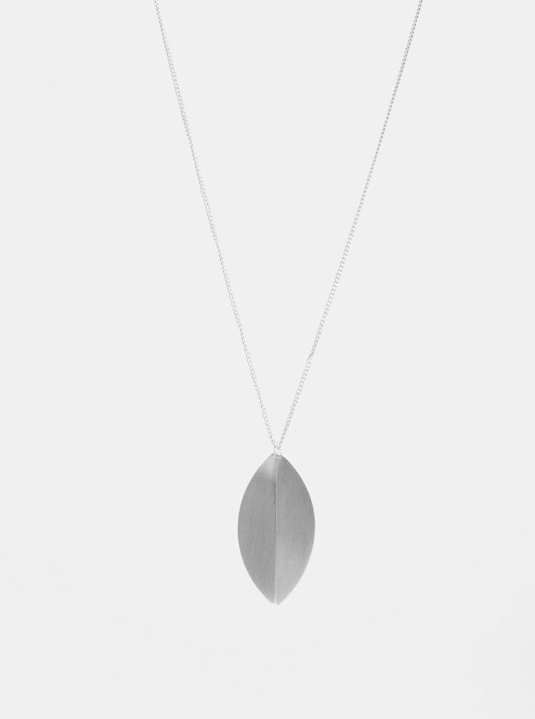 Náhrdelník ve stříbrné barvě Pieces Dilan