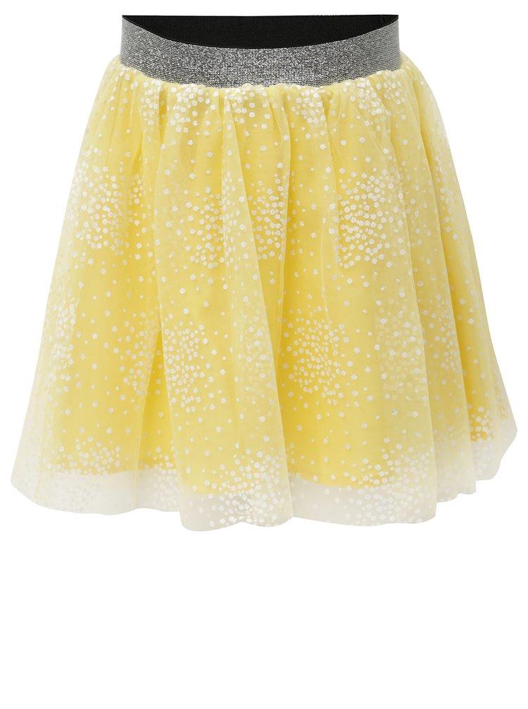Žlutá holčičí sukně s potiskem name it Kellow