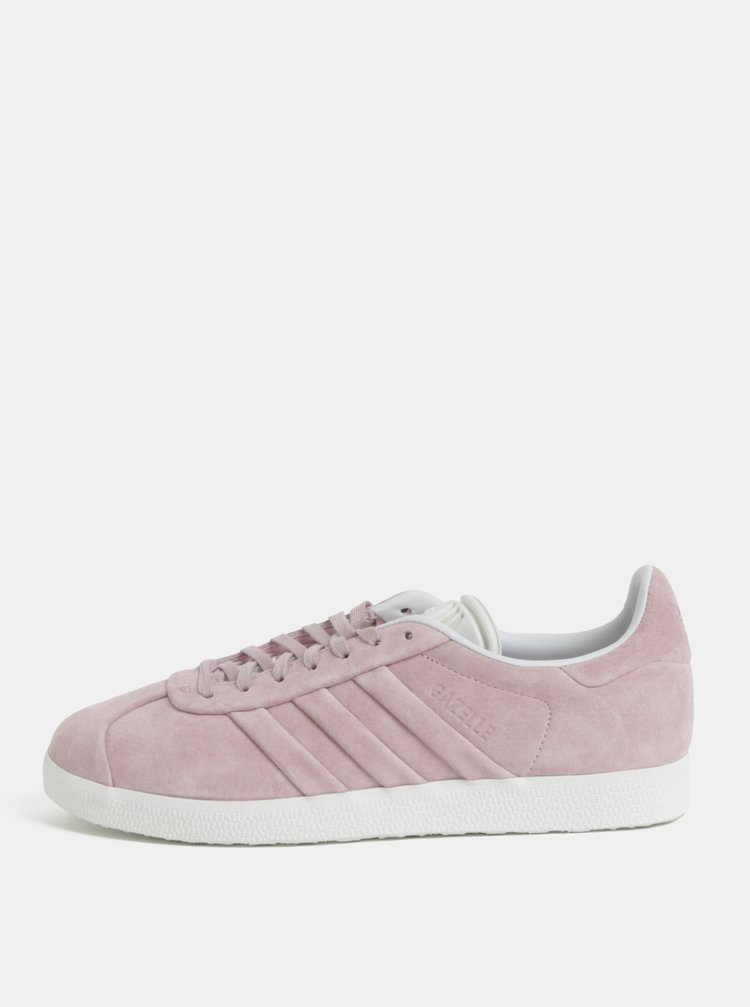 a6441f91b0263 Ružové dámske semišové tenisky adidas Originals Gazelle | ZOOT.sk
