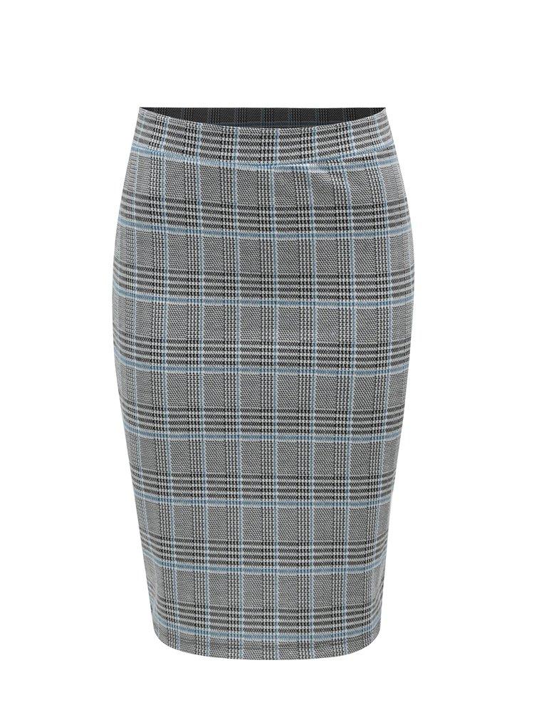 Modro-černá vzorovaná sukně VERO MODA Blair