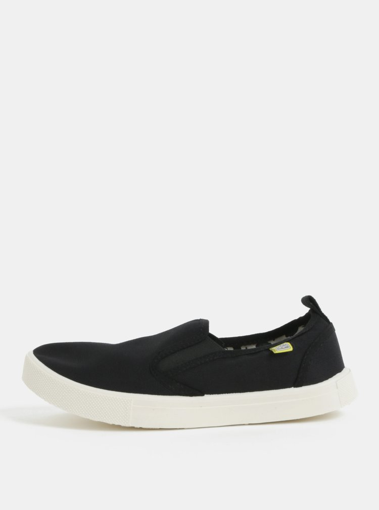 Pantofi slip on negri Oldcom Milan