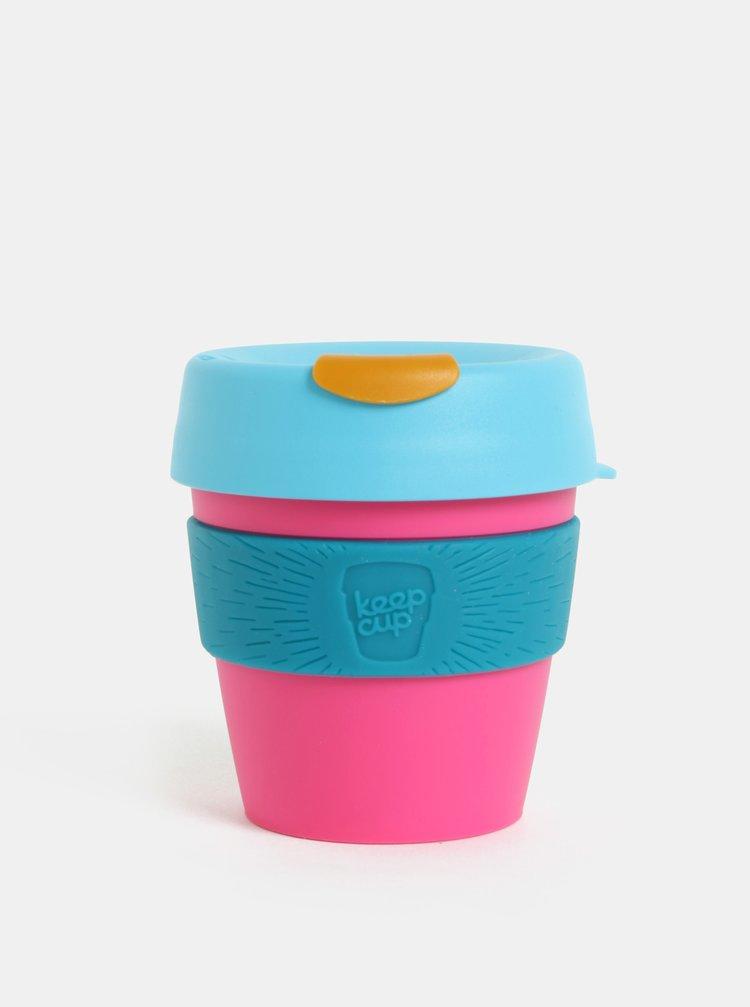 Cana de calatorie albastru-roz KeepCup Original Small