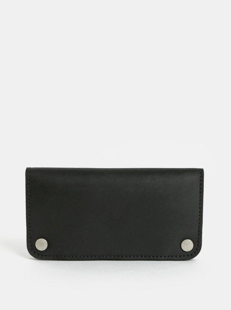 Černá dámská kožená peněženka WOOX