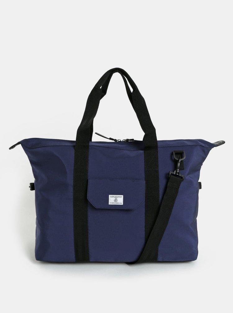 Geanta de voiaj albastru inchis Burton Menswear London