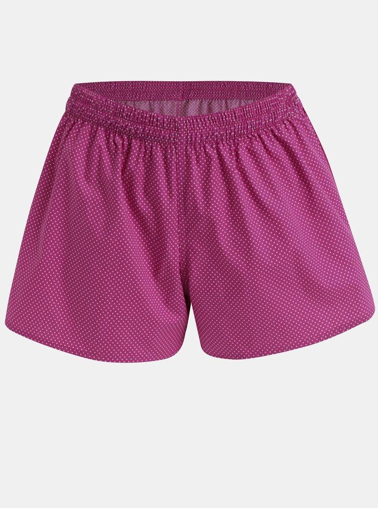 Boxeri de dama roz cu model ZOOT