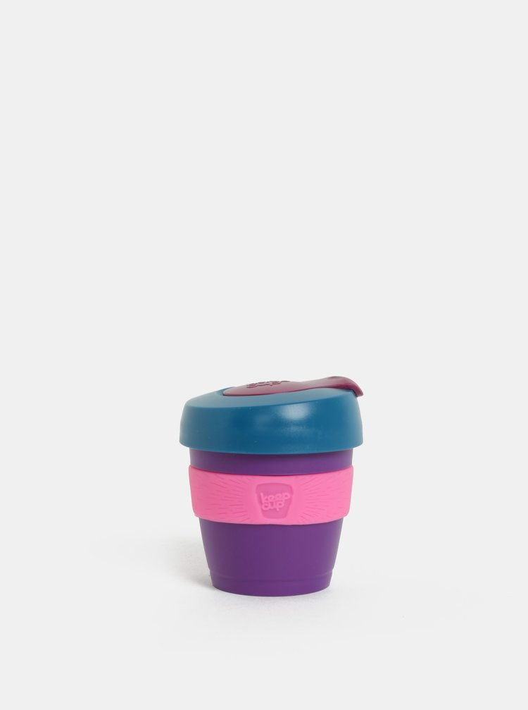 Petrolejovo-fialový cestovný hrnček KeepCup Original Extra Small