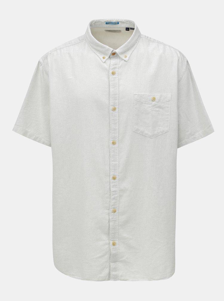 Krémová košile s náprsní kapsou Jack & Jones Portland