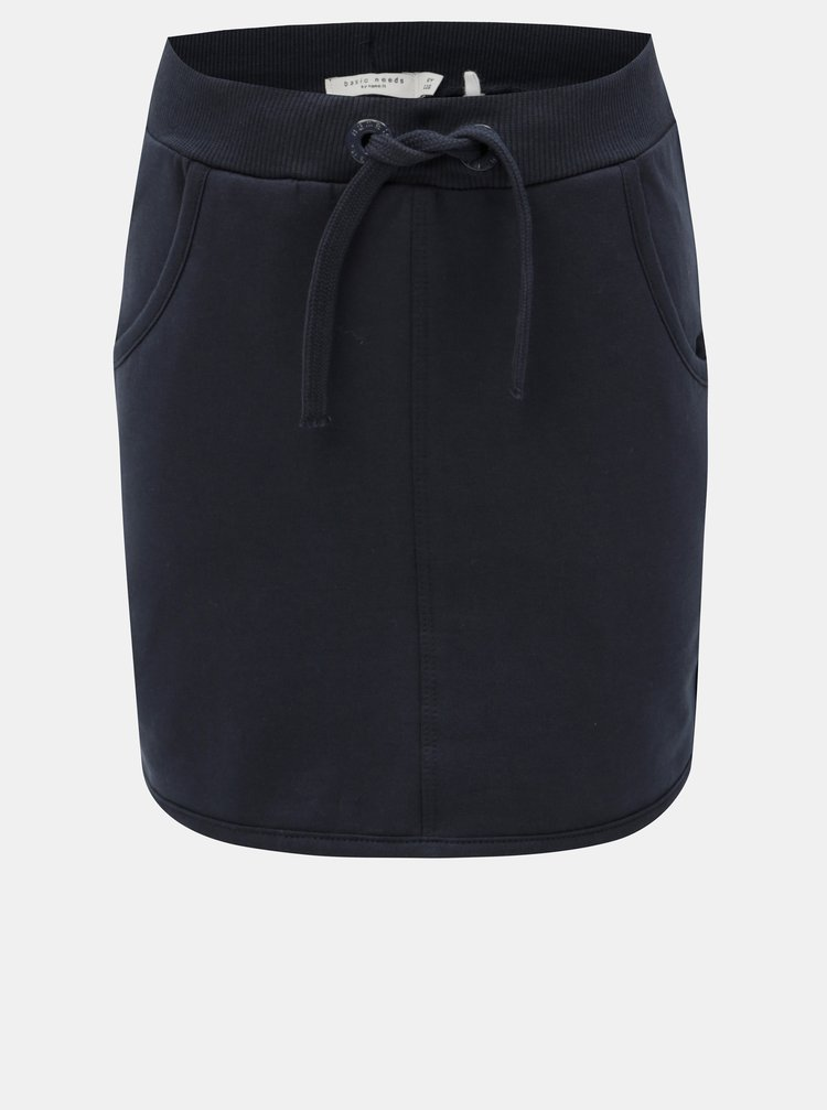 Modrá holčičí tepláková sukně Name it Volta