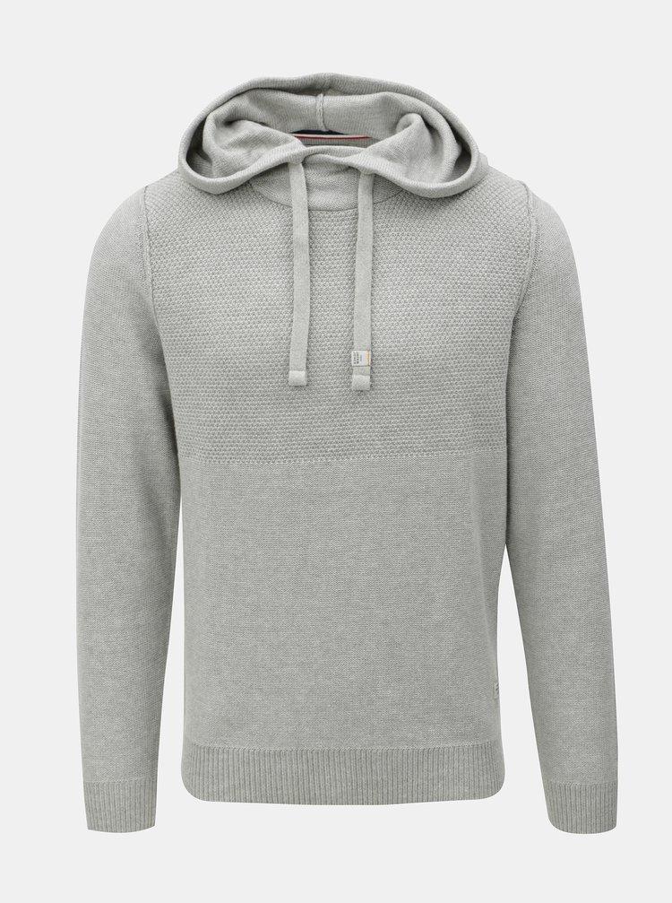 1e40147abbb8 ... Sivý sveter s kapucňou Jack   Jones Duberry