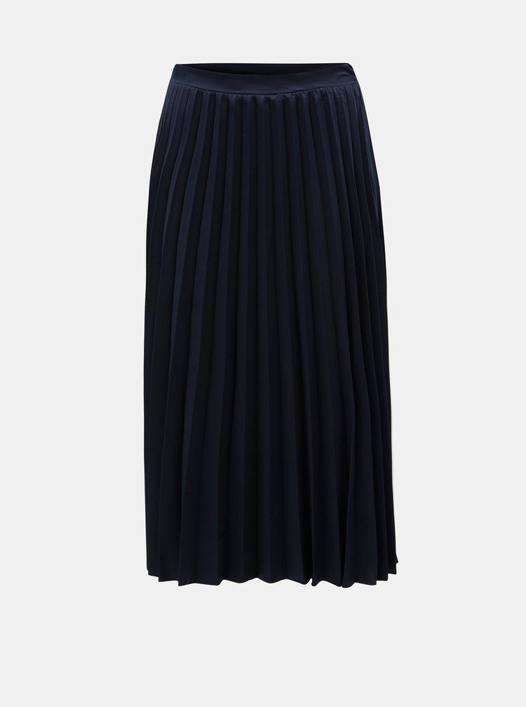 Tmavě modrá plisovaná sukně ZOOT
