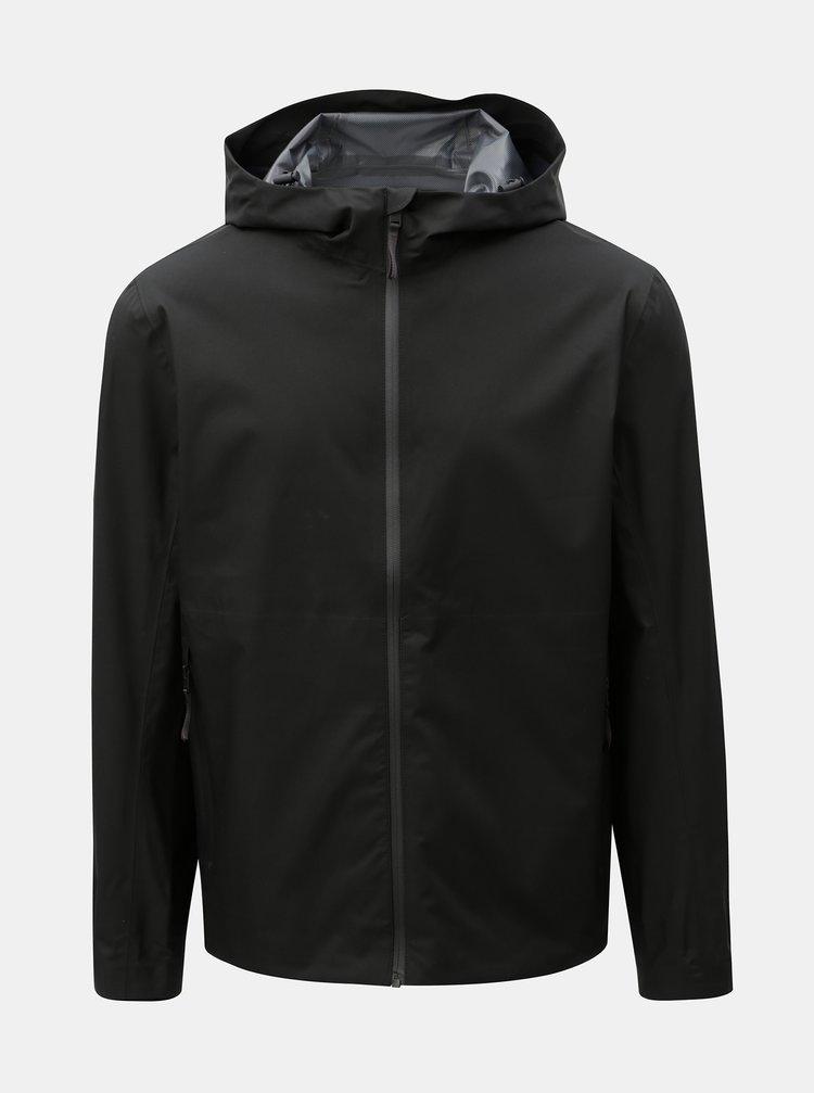 Černá lehká  voděodolná bunda Selected Homme Iron