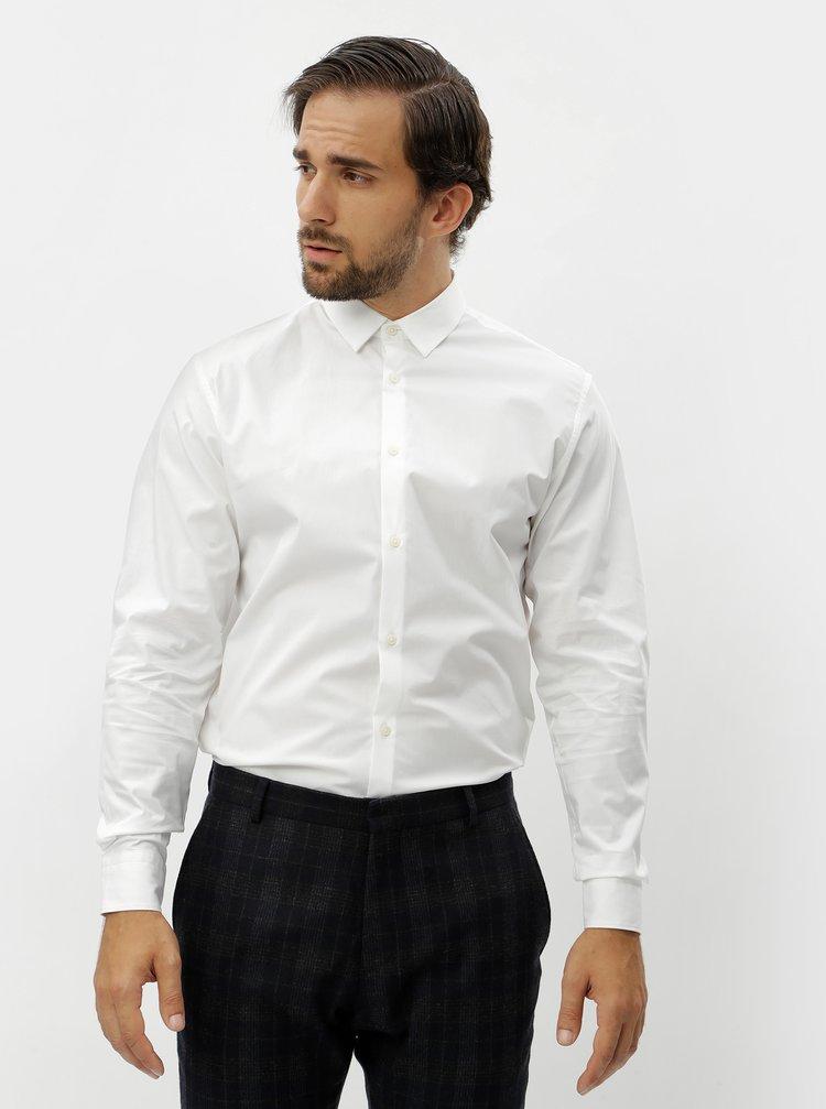 Bílá formální slim fit košile Selected Homme Preston