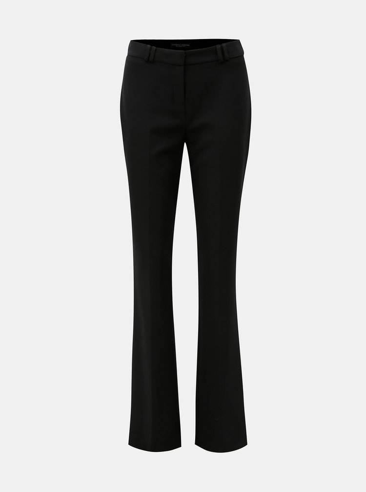 Pantaloni bootcut negri Dorothy Perkins Tall
