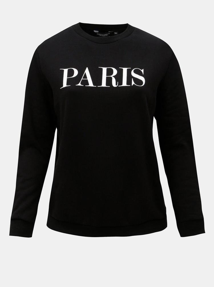 Bluza sport neagra cu text Dorothy Perkins Curve