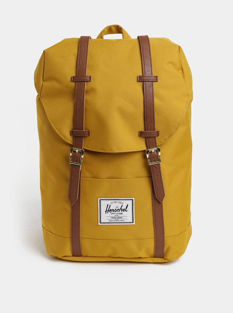 Rucsac mustar Herschel Retreat 19,5 l