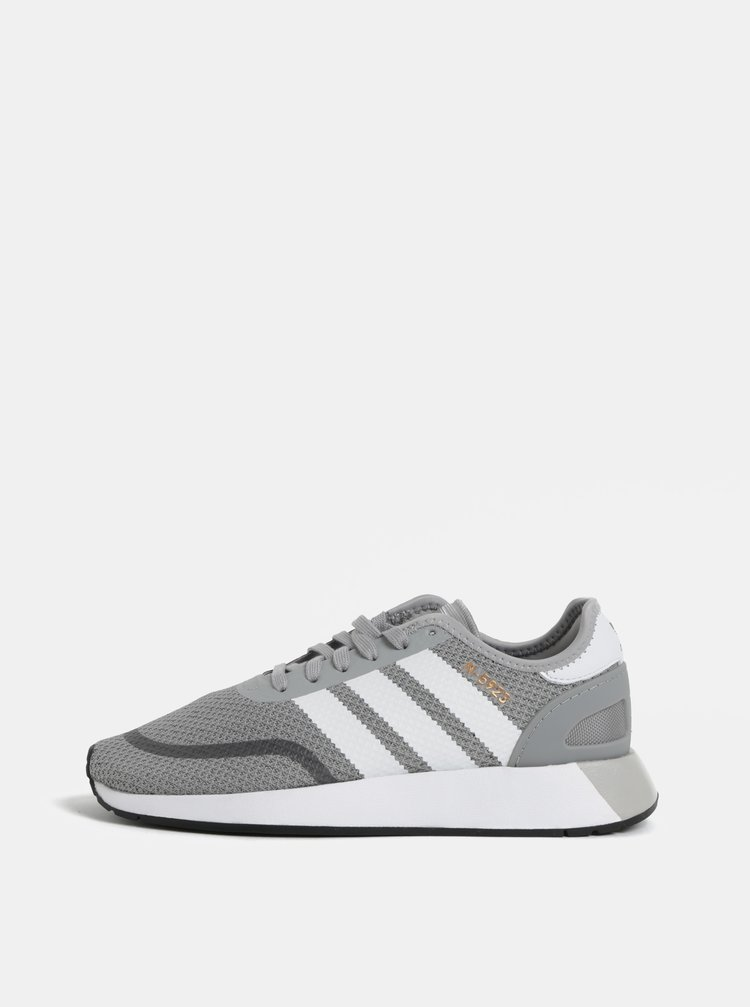 Tenisi barbatesti gri adidas Originals Iniki Runner