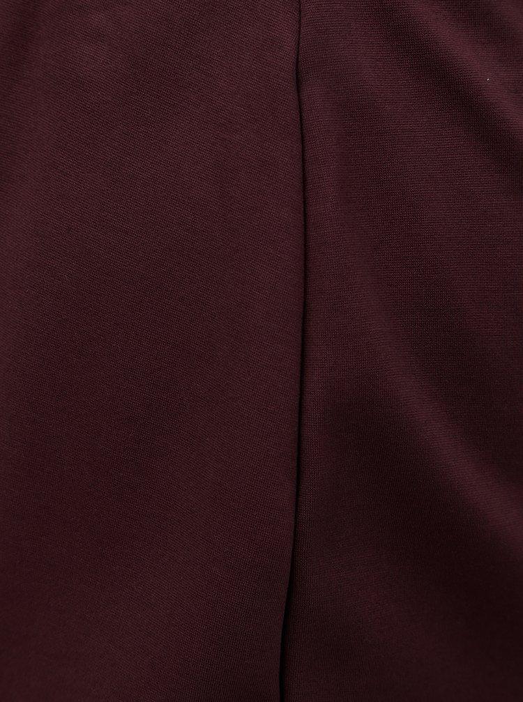cab4d77d7b3a Vínová puzdrová sukňa Zizzi Maddison