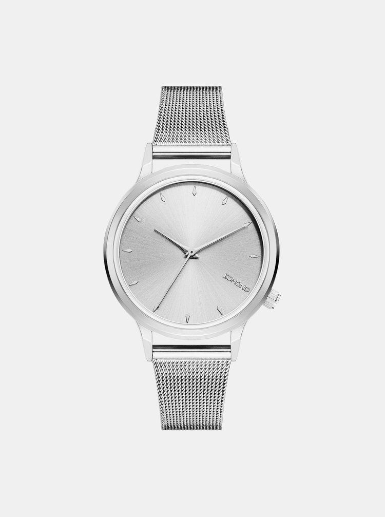 ... Dámské hodinky ve stříbrné barvě Komono Lexi Royale 2e0abc36b9
