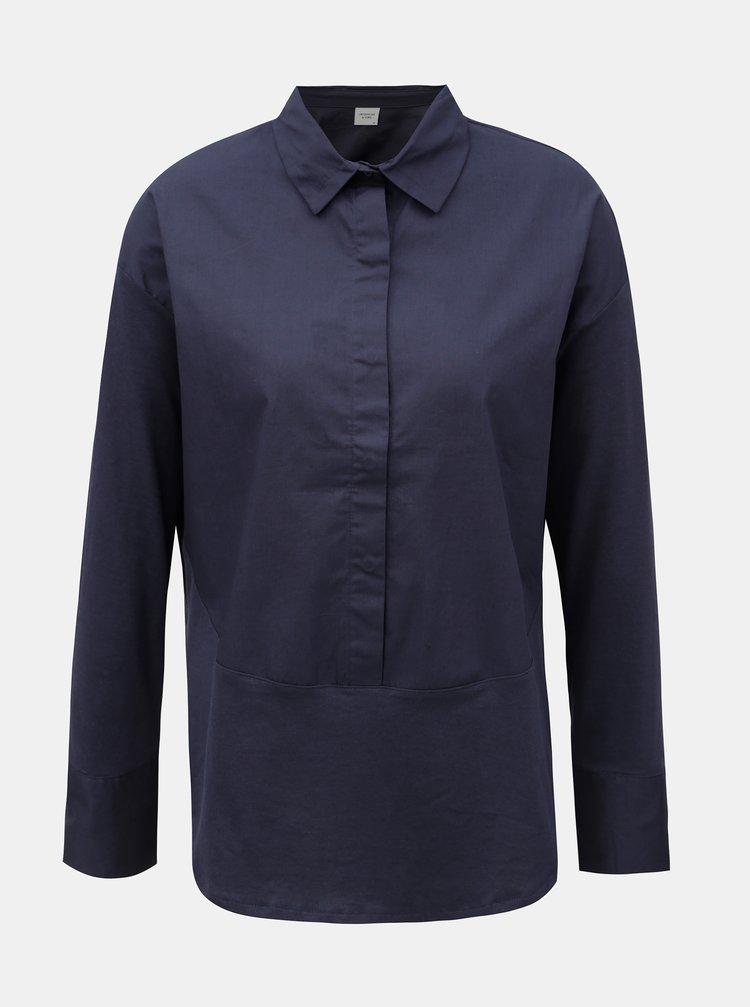 Tmavomodrá košeľa Jacqueline de Yong Lima