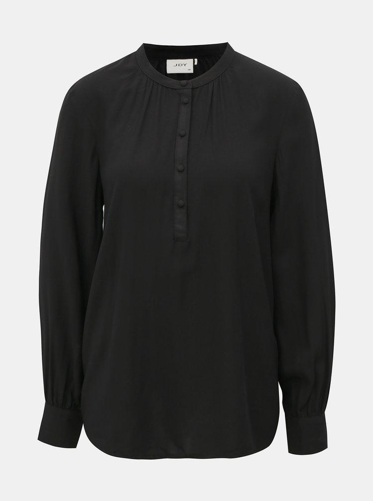 Čierna voľná košeľa Jacqueline de Yong