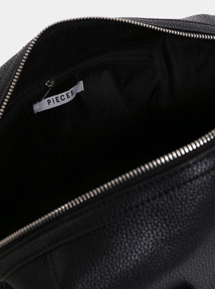 80b8754fa0 ... Čierna malá kabelka Pieces Fia