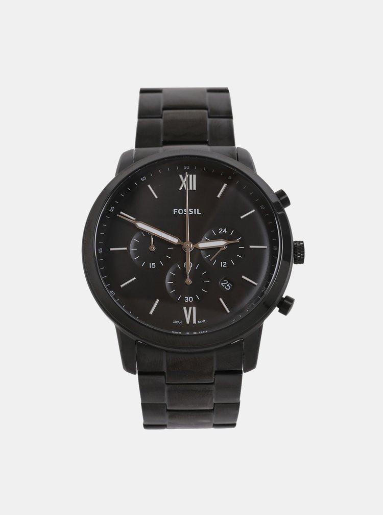 Černé pánské hodinky Fossil Neutra · Černé pánské hodinky Fossil Neutra 22888bcc7ef