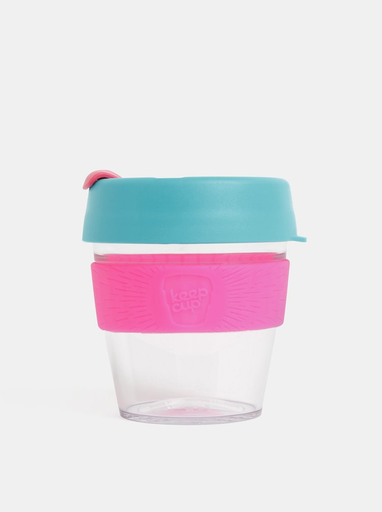 Růžovo-modrý cestovní hrnek KeepCup Original small 227 ml