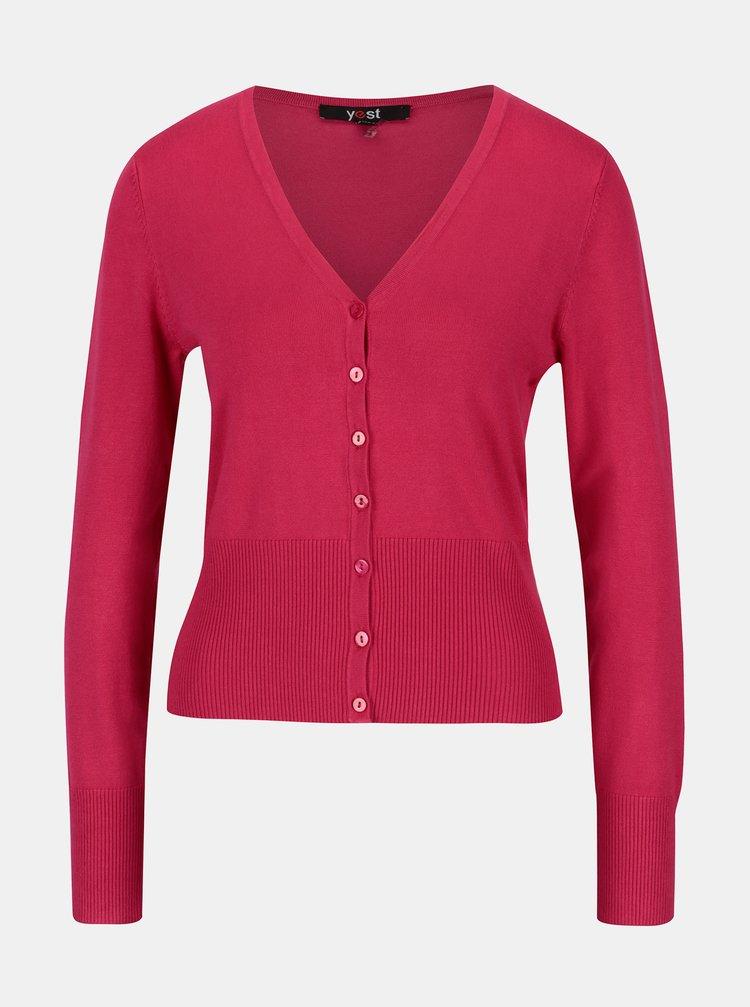 Cardigan roz scurt - Yest