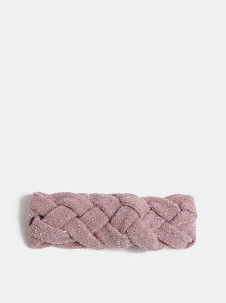 Bentita roz deschis stralucitoare ONLY Tamra