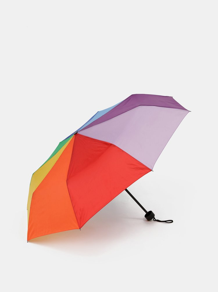 Barevný skládací deštník Doppler Mini Duha