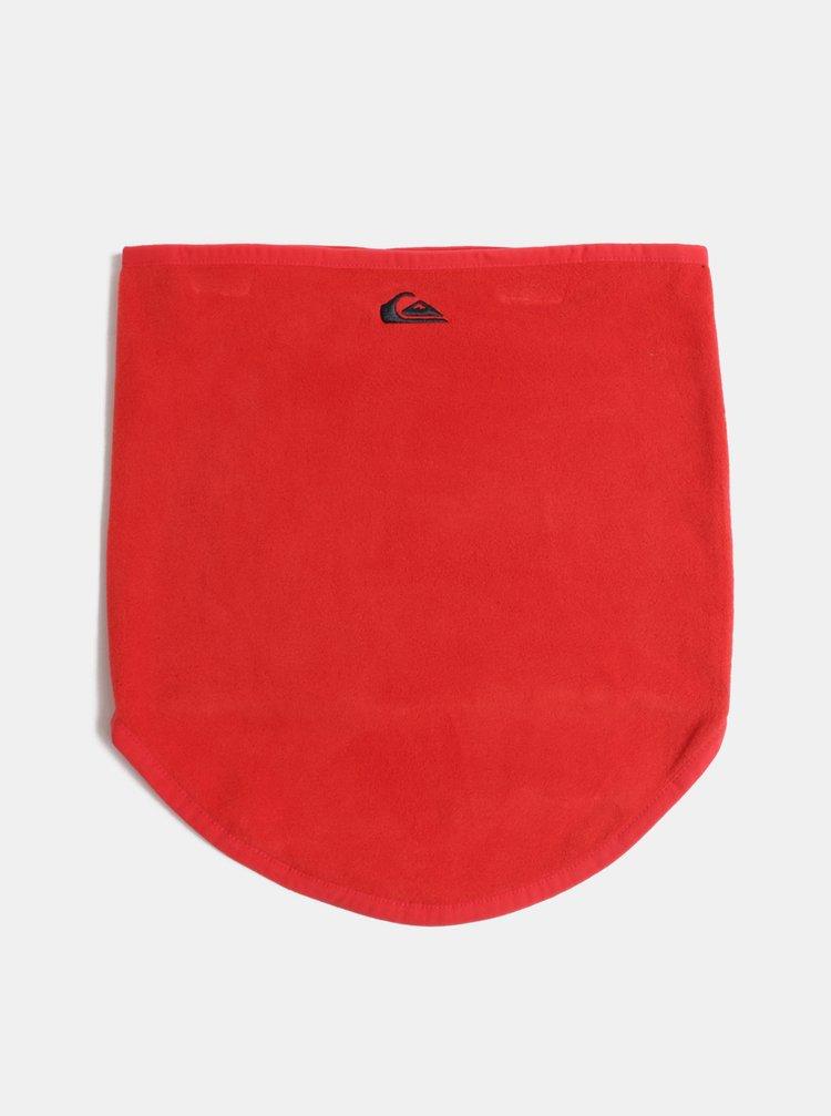 Červený klučičí nákrčník s výšivkou Quiksilver Casper You